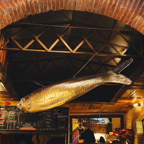 Cadre Restaurant le Divil