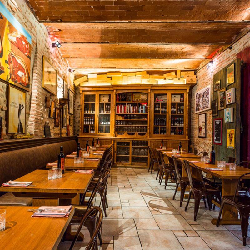 Salle Restaurant le Divil